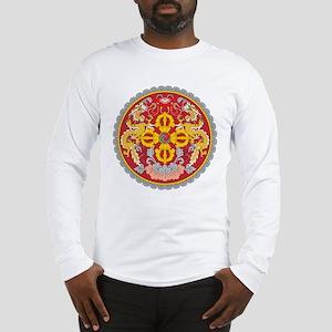 Bhutan Coat Of Arms Long Sleeve T-Shirt
