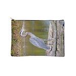 Blue Heron Makeup Bag