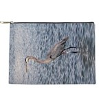 Blue Heron Water Makeup Bag