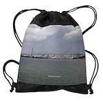 Ambassador Bridge Drawstring Bag
