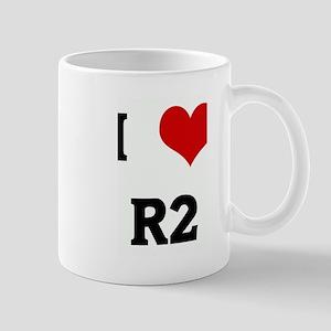 I Love R2 Mug