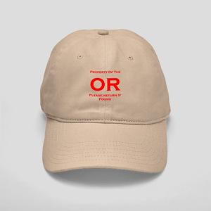 OR Prop red Cap