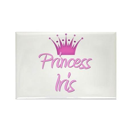 Princess Iris Rectangle Magnet