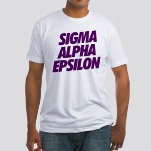 Sigma Alpha Epsilon Slant Fitted T-Shirt