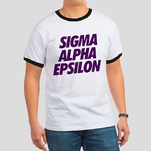 Sigma Alpha Epsilon Slant Ringer T