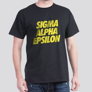 Sigma Alpha Epsilon Slant Dark T-Shirt