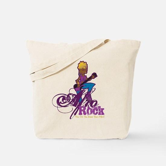 Afro Rock Tote Bag