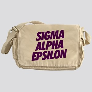 Sigma Alpha Epsilon Slant Messenger Bag