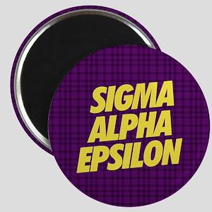 Sigma Alpha Epsilon Slant Magnet