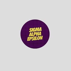 Sigma Alpha Epsilon Slant Mini Button