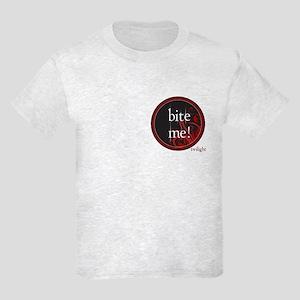 Twilight Bite Me Kids Light T-Shirt