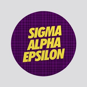 Sigma Alpha Epsilon Slant Button