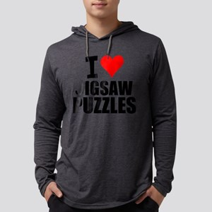 I Love Jigsaw Puzzles Long Sleeve T-Shirt