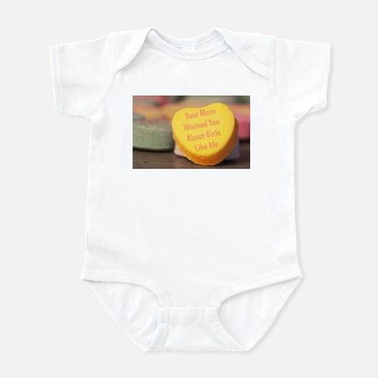 Mom Warned You (Girl) Infant Bodysuit