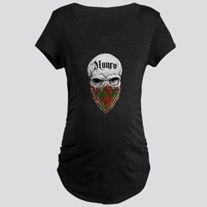 Munro Tartan Bandit Maternity Dark T-Shirt