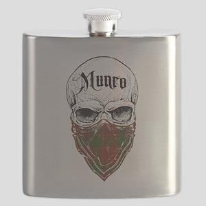 Munro Tartan Bandit Flask