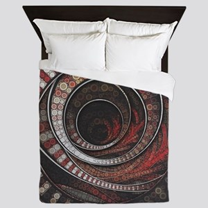 The One Thousand and One Rings of the Queen Duvet