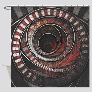 The One Thousand and One Rings of t Shower Curtain