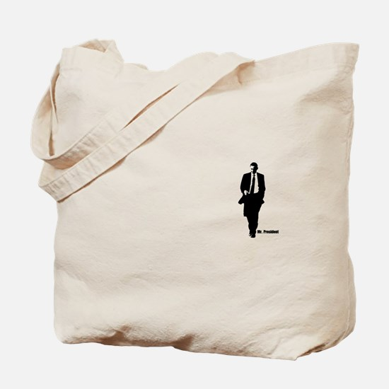 Mr. President (Obama Silhouet Tote Bag