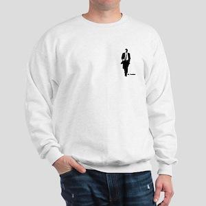 Mr. President (Obama Silhouet Sweatshirt