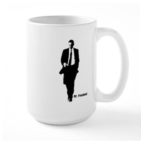 Mr. President (Obama Silhouet Large Mug