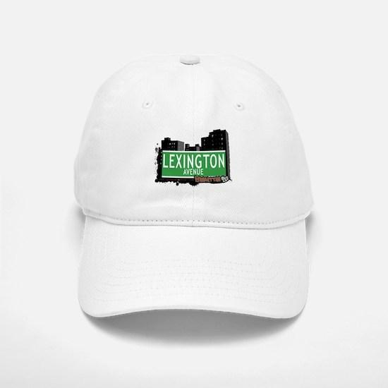 LEXINGTON AVENUE, MANHATTAN, NYC Baseball Baseball Cap