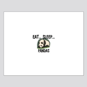 Eat ... Sleep ... PANDAS Small Poster