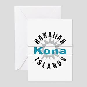 Kona Hawaii Greeting Card