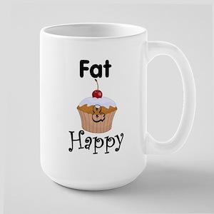 FAT & Happy Large Mug