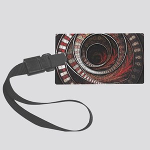 The One Thousand and One Rings o Large Luggage Tag