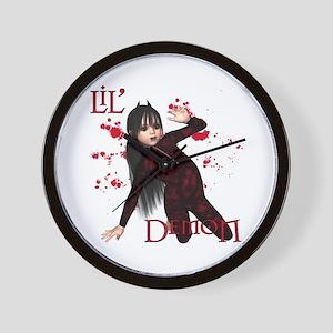 Little Demon Wall Clock