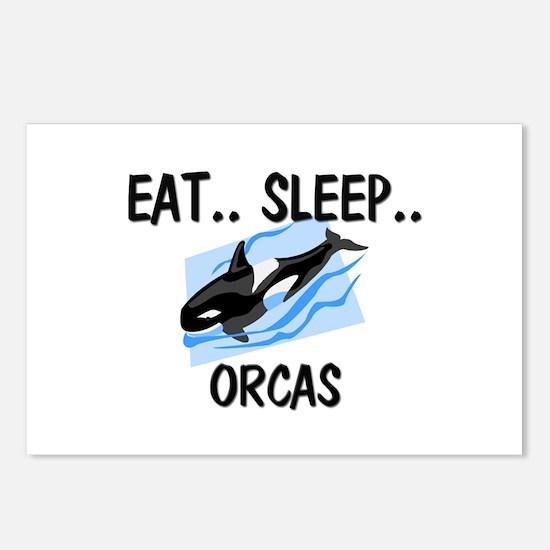 Eat ... Sleep ... ORCAS Postcards (Package of 8)