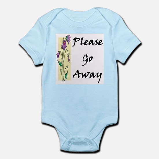 Please Go Away Infant Creeper