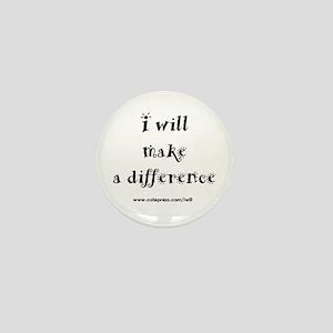 Make a Difference Mini Button
