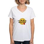 Cunnilinguists against Bush Women's V-Neck T-Shirt