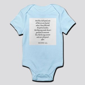 EXODUS  28:3 Infant Creeper