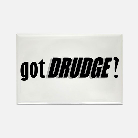 got DRUDGE? Rectangle Magnet
