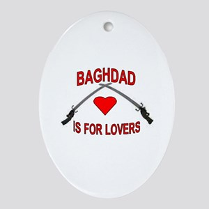 Baghdad Lovers Oval Ornament