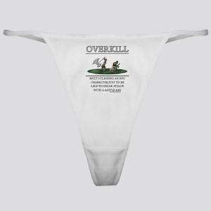 Overkill Classic Thong