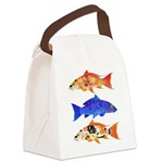 3 koi Canvas Lunch Bag