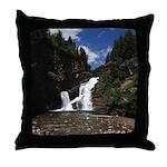 Cameron Falls Waterton Throw Pillow