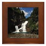 Cameron Falls Waterton Framed Tile