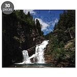 Cameron Falls Waterton Puzzle