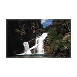 Cameron Falls Waterton Wall Decal