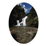 Cameron Falls Waterton Oval Ornament