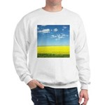 canola fields Sweatshirt