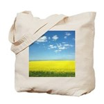canola fields Tote Bag