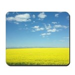 canola fields Mousepad