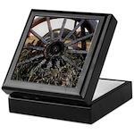 Wagon Wheels Keepsake Box