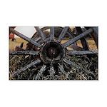 Wagon Wheels Wall Decal